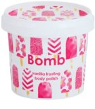 Bomb Cosmetics Vanilla Frosting peeling corporal