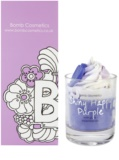 Bomb Cosmetics Piped Candle Shiny Happy Purple vonná svíčka
