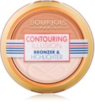 Bourjois Contouring Illusion puder brązujący