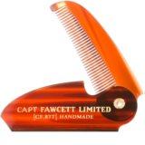 Captain Fawcett Accessories pente dobrável para bigode