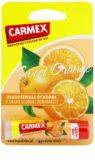Carmex Sweet Orange bálsamo hidratante para lábios em stick