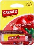 Carmex Pomegranate feuchtigkeitsspendender Balsam-Stick für die Lippen LSF 15