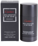 Cartier Declaration d'Un Soir dezodorant w sztyfcie dla mężczyzn 75 ml