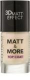 Catrice Matt & More fedő körömlakk
