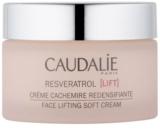 Caudalie Resveratrol Lift leichte Liftingcreme  für trockene Haut