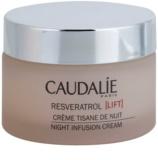 Caudalie Resveratrol Lift crema de noche regeneradora  con efecto alisante