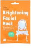 Cettua Clean & Simple plátýnková maska s rozjasňujícím účinkem