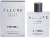 Chanel Allure Homme Sport borotválkozás utáni arcvíz férfiaknak 100 ml