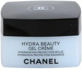 Chanel Hydra Beauty crema gel pentru hidratare. fata