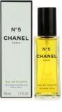 Chanel No.5 Eau de Toilette para mulheres 50 ml recarga