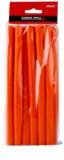 Chromwell Accessories Orange bobes longos para enrolar o cabelo