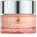 Clinique All About Eyes crema para contorno de ojos antibolsas y antiojeras