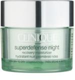 Clinique Superdefense нічний зволожуючий крем проти перших ознак старіння шкіри