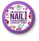 Cocolabelle Fruit Scented & Fabulous Nails discos removedores de verniz