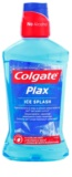Colgate Plax Ice Splash enjuague bucal antibacteriano para aliento fresco