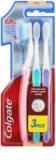 Colgate Slim Soft Ultra Compact escova de dentes suave 3 pçs