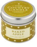 Country Candle Baked Apple Scented Candle   in Tin