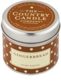 Country Candle Gingerbread Scented Candle   in Tin