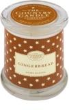 Country Candle Gingerbread vela perfumada    en vidrio, con tapa