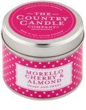 Country Candle Morello Cherry & Almond vela perfumada    en lata