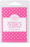 Country Candle Morello Cherry & Almond vosk do aromalampy 60 g