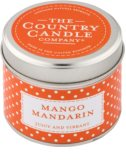 Country Candle Mango Mandarin Scented Candle   in Tin