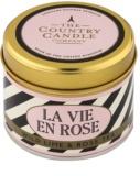 Country Candle Wild Lime & Rose Tea vela perfumada    en lata