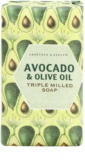 Crabtree & Evelyn Avocado & Olive Oil sabonete com azeite