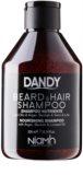DANDY Beard & Hair Shampoo šampón na vlasy a fúzy