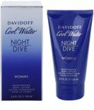 Davidoff Cool Water Night Dive mleczko do ciała dla kobiet 150 ml