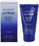 Davidoff Cool Water Night Dive Body Lotion for Women 150 ml
