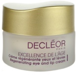 Decléor Excellence de L´Âge Anti-Âge Global Regenerating Eye And Lip Anti-Wrinkle Cream 50+ For Mature Skin