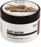 Delia Cosmetics Dermo System samoopaľovacie telové maslo s extraktom z orechov