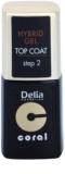 Delia Cosmetics Coral Nail Enamel Hybrid Gel verniz gel de cobertura