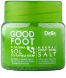 Delia Cosmetics Good Foot sal de banho herbal para pés