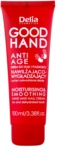 Delia Cosmetics Good Hand Anti-Age Moisturizing And Softening Cream  On Hands And Nails