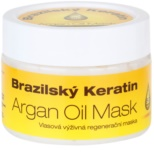 Dermagen Brazil Keratin Argan Oil подхранваща регенерираща маска за всички видове коса