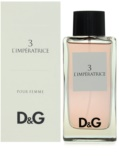 Dolce & Gabbana D&G Anthology L'Imperatrice 3 eau de toilette nőknek 100 ml