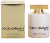 Dolce & Gabbana The One losjon za telo za ženske 200 ml zlat saten