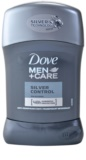 Dove Men+Care Silver Control antitranspirante sólido 48 h
