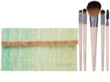 EcoTools Essential Makeup Brush Set with Pouch