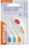 Elmex Caries Protection Triangular Interdental Toothbrushes, 4 pcs Mix