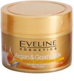 Eveline Cosmetics Argan & Goat´s Milk creme de dia alisador antirrugas
