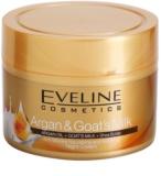 Eveline Cosmetics Argan & Goat´s Milk hranilna in pomirjajoča nočna krema proti gubam