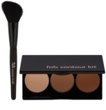 FAB Brows Step By Step Contouring Palette with Brush
