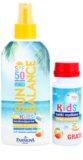 Farmona Sun Balance leite solar protetot com SPF 50 em spray e com bolinhas de sabão