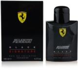 Ferrari Scuderia Ferrari Black Signature woda toaletowa dla mężczyzn 125 ml