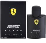 Ferrari Scuderia Ferrari Black Eau de Toilette para homens 125 ml