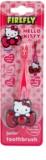 FireFly Hello Kitty escova de dentes para crianças com suporte soft