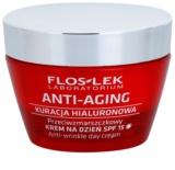 FlosLek Laboratorium Anti-Aging Hyaluronic Therapy crema hidratanta pentru utilizare zilnica anti-imbatranire SPF 15